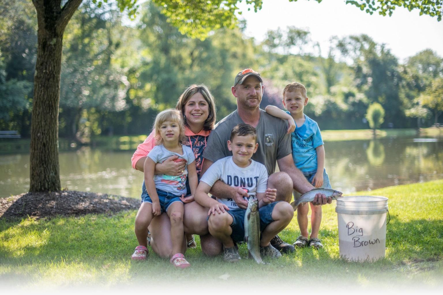 Big Brown Fish & Pay Lakes